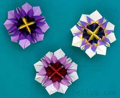 Passion Flower - New Origami Model