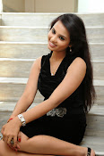 Actress Aarushi Glamorous Photos in Black-thumbnail-10