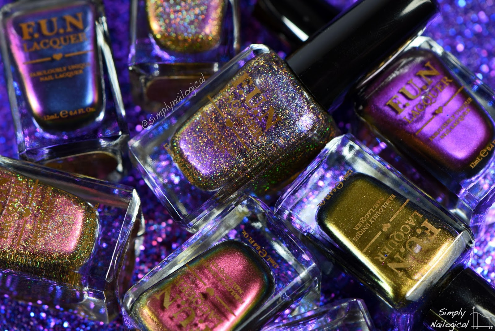 FUN Lacquer 2015 Love collection