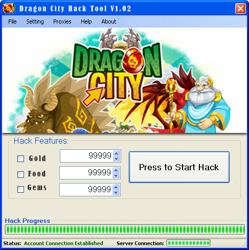 Dragon City Hack Online Games Hacks 2013