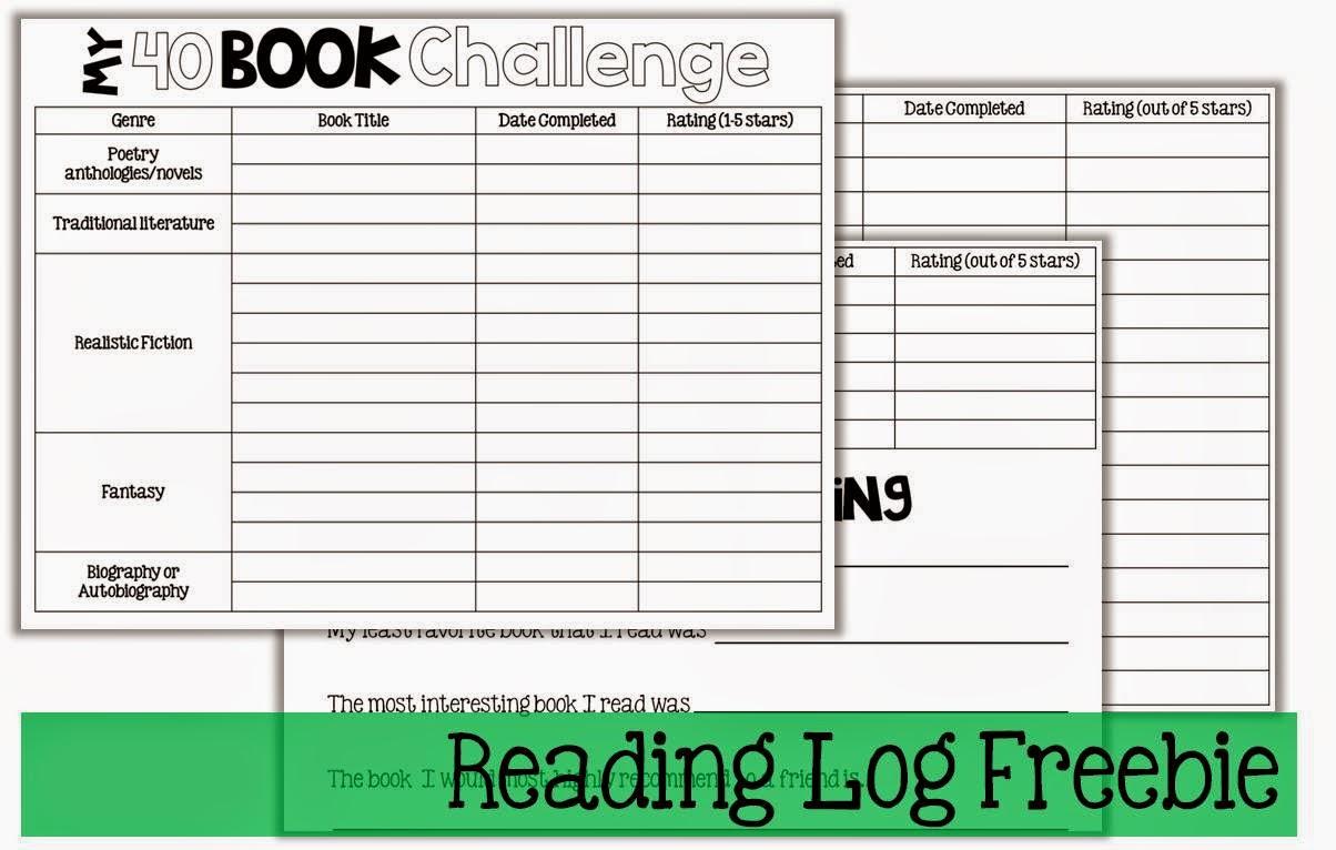 Weekly+Reading+Log5th+Grade This week' s hosts are Deb at Crafting ...