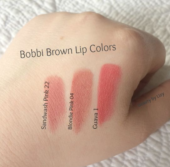 Beauty By Lizy New Bobbi Brown Queensgate Counter Top 3 Lip Colors