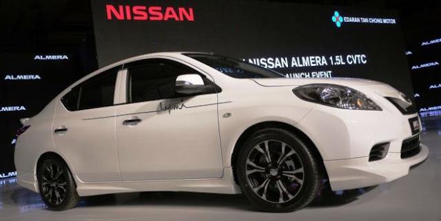 ABPBH - Antara Nissan 370Z Coupe dan Nissan Almera