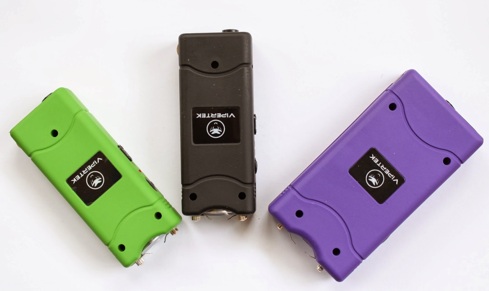 Vipertek VTS-880 and VTS-881 Stun Guns: Top View