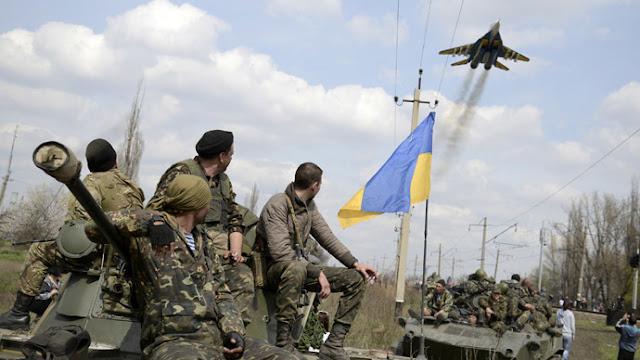 Fuerzas Armadas de Ucrania bombardean región rebelde
