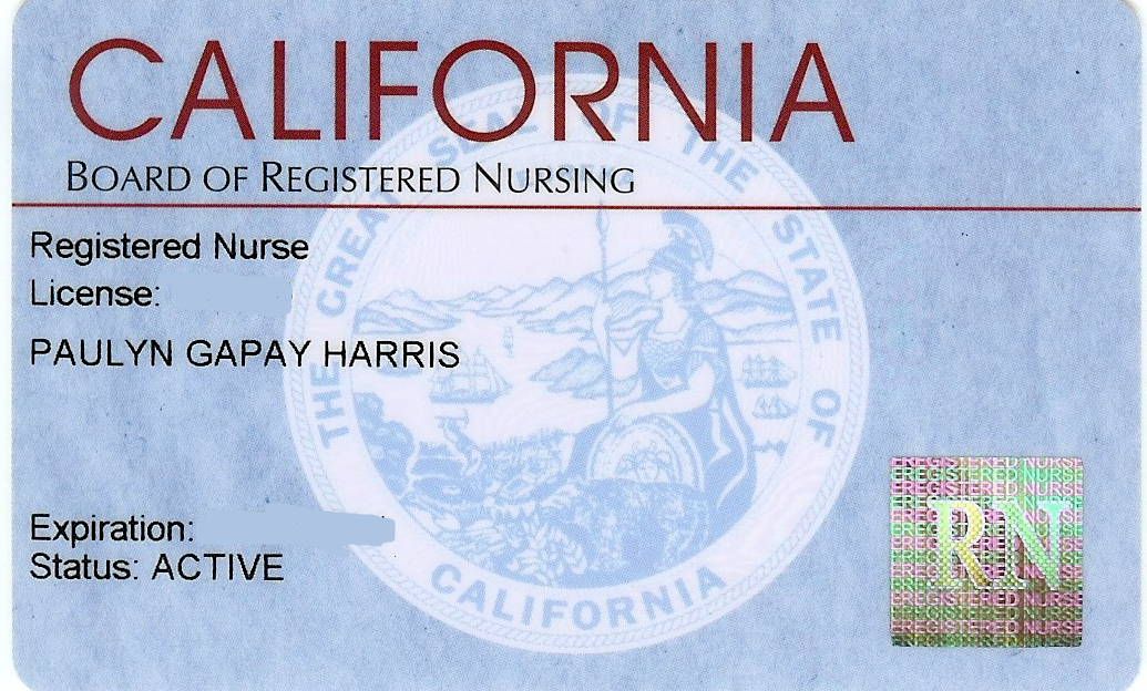 how to get rn license in california