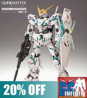 Gundam Fix Figuration Metal Composite: Unicorn Gundam (Awakening Ver)