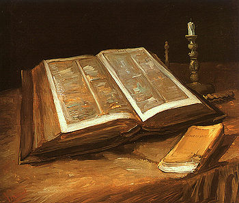 Natura morta con Bibbia - Van Gogh