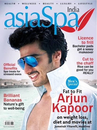 Arjun Kapoor photoshoot for asiaSpa cover page