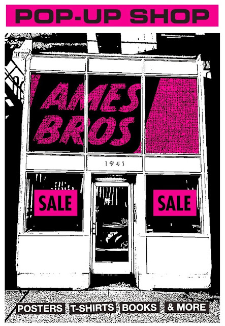 Pearl Jam and Ames Bros. Pop-Up Shops!