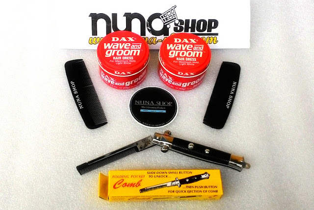 NUNA SHOP JUAL Minyak Rambut Dax Wave And Groom Pomade