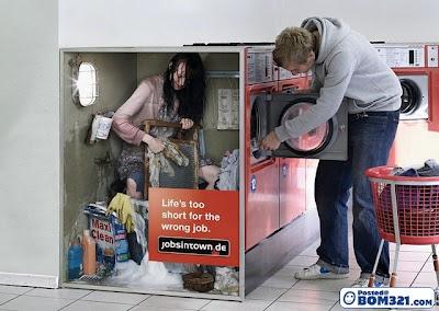 Iklan Cari Kerja Yang Kreatif