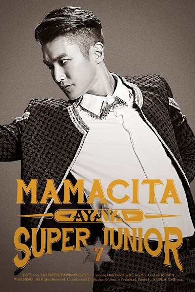 Super Junior Mamacita Siwon