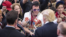 ELVIS, TRUMP AND CLINTON MET IN VEGAS
