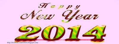 couverture facebook happy new 2014