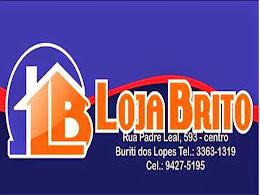LOJA BRITO - Rua Padre Leal, centro - B. Lopes
