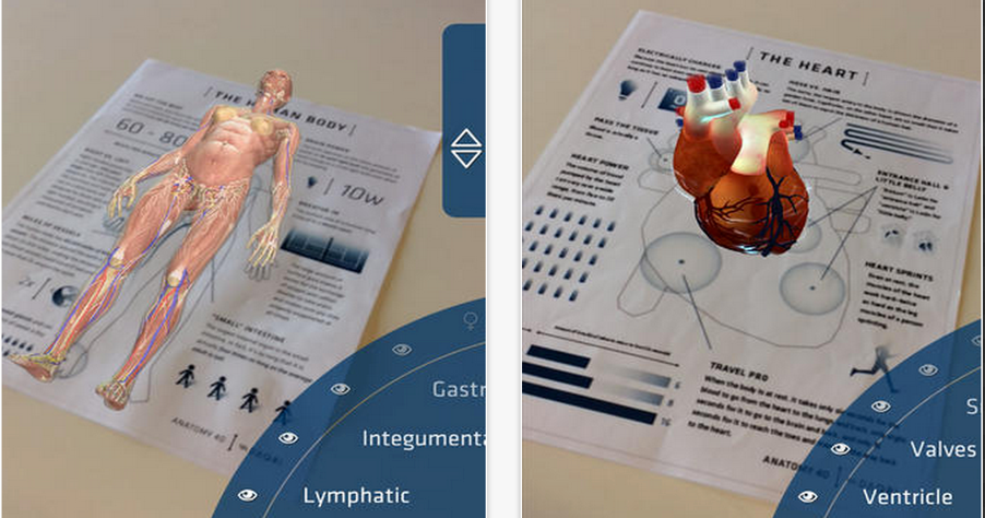 Here is A Great App to Explore The Human Body in 4D