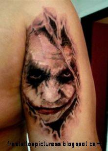Joker Tattoos on Pinterest  Joker Tattoos Jokers and Batman