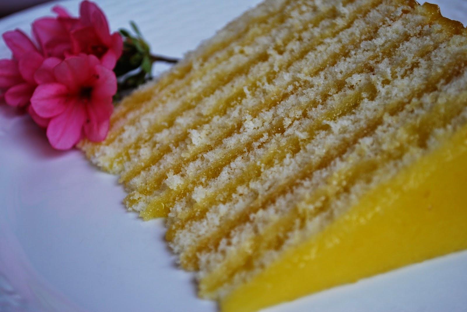 Rebecca Lang Cooks Ten Layer Lemon Cheese Cake