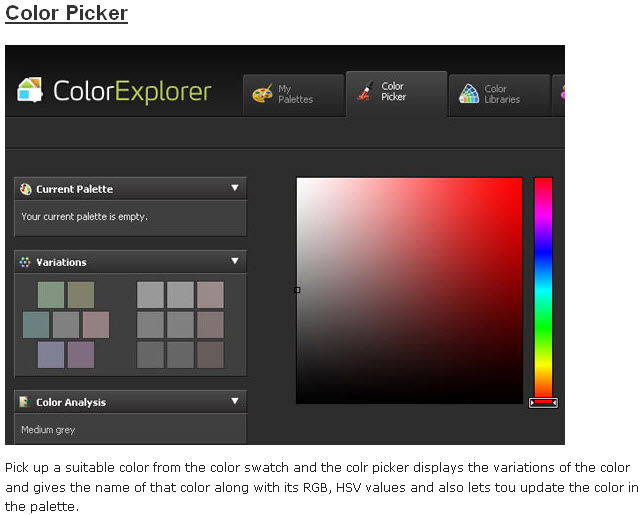 various color palette and color scheme generators web
