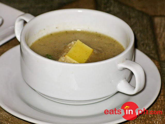 Creole Onion Soup from Cottage Kitchen Cafe in Angeles City Pampanga