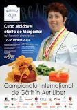 Cupa Moldovei in gastronomie 2012