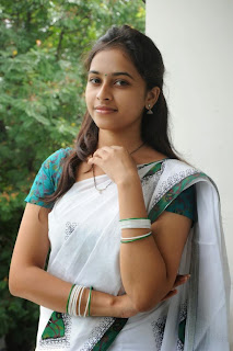 Sri Divya looking hot in a saree