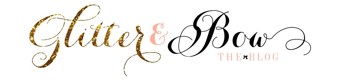 Glitter & Bow
