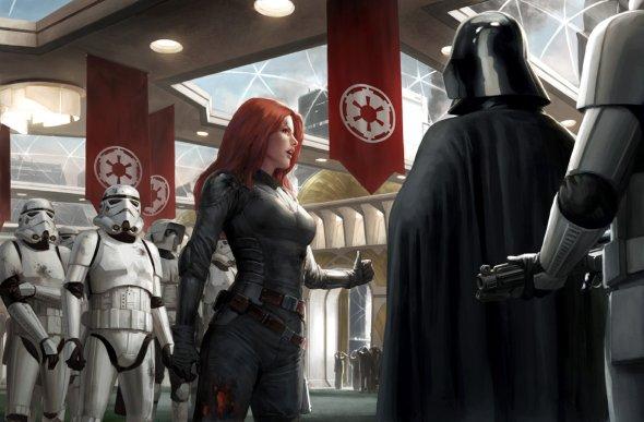 Darren Tan deviantart ilustrações fantasia ficção científica star wars