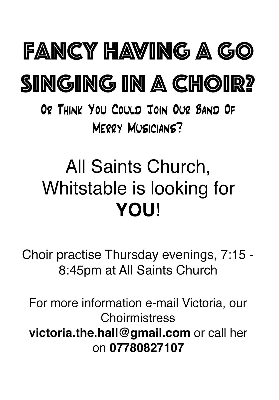 Join our choir!