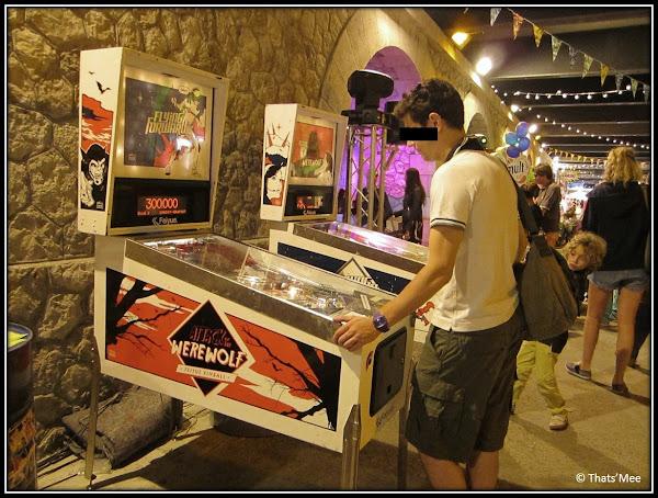 Brunch Bazar Faust Paris Pont Alexandre III juin 2013 flipper