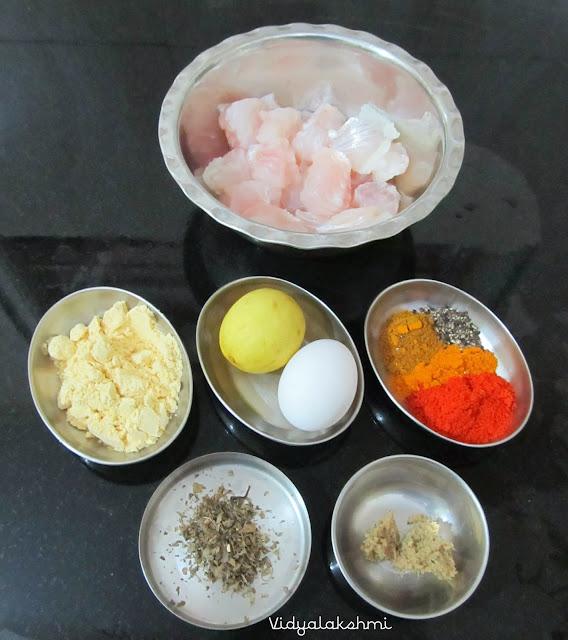how to make basa fish fry