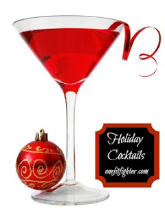 holiday cocktail, holiday drinks, clean holiday cocktails, katy ursta