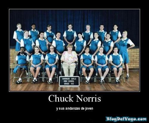 Memes y desmotivaciones de chuck norris