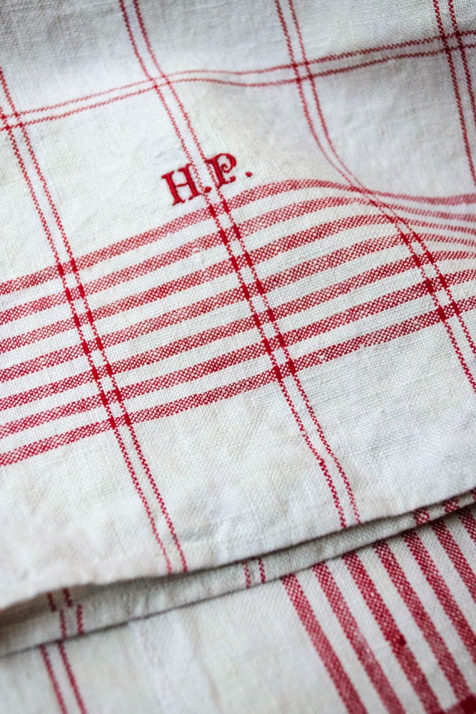 Red Check Dish Towel ...
