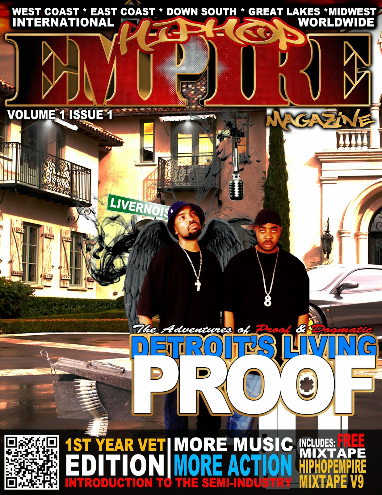 Download the Entertainment eBooks | Hip Hop Empire Magazine Issue 0