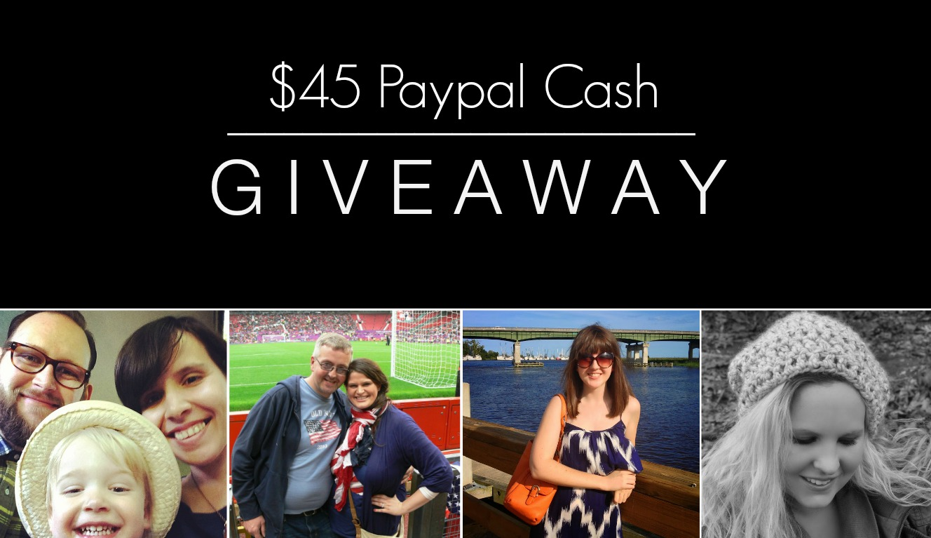 $45 Paypal Cash Giveaway + Sponsor Love