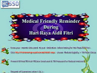 Hari Raya Aidil Fitri Medical Reminder 2014