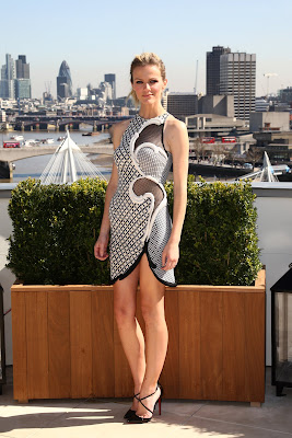 Brooklyn Decker At Battleship UK Photocall in London