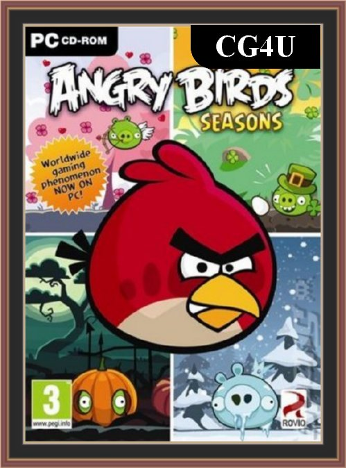 Angry Birds Seasons Cover | Angry Birds Seasons Poster