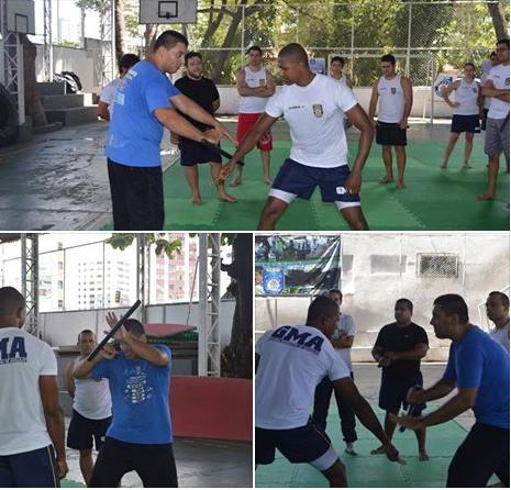 Guardas Municipais de Aracaju (SE) aprimoram conhecimentos do uso da tonfa