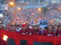(Fotos) Honduras: Masiva movilización de las antorchas le tocó la puerta a JOH