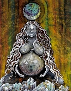 'EarthMother Birth Goddess' by Omra Fochtman-Kubby