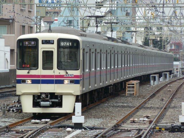 都営新宿線 各停 本八幡行き5 京王9000系