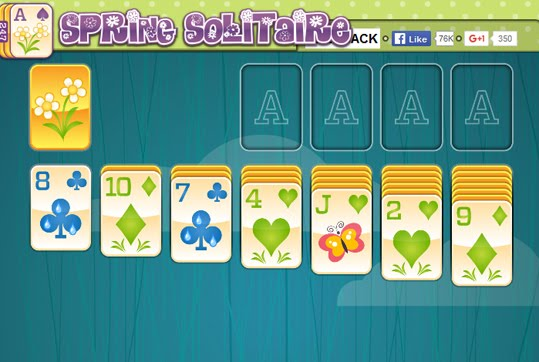 Spring Solitaire Free Game