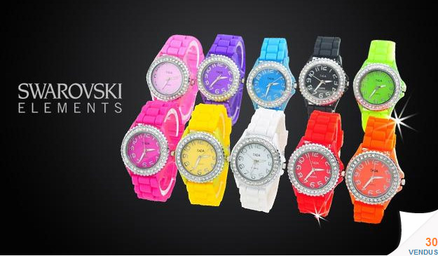1 montre Swarovski Elements pas cher