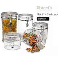 Paytm : Steelo Containers Extra 51% Cashback : Buy To Earn