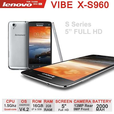 Harga Terbaru Lenovo Vibe X S960 dengan Kelebihan, Kekurangan dan Spesifikasi