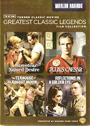 Un Tranvia Llamado Deseo (Dir. Elia Kazan), Pack 4 films Marlon Brando