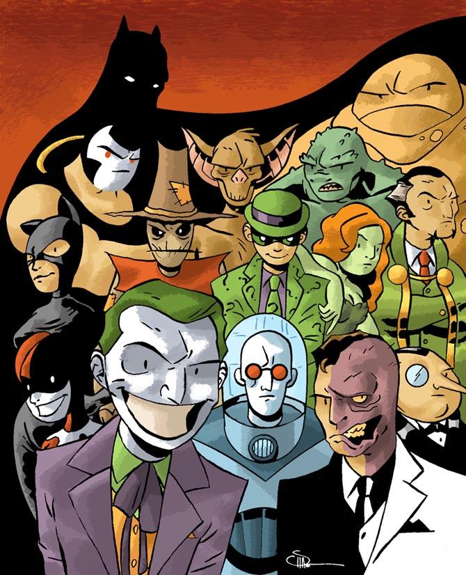 enemigos de batman: